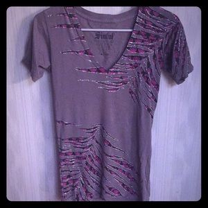 Gorgeous Sinful V-neck tee